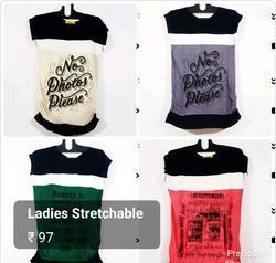 Ladies Round Neck T Shirt
