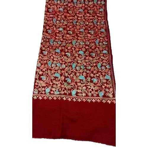 5df0f7147f Ladies Kashmiri Hand Embroidered Shawls at Rs 1750 /piece(s) | Hand ...