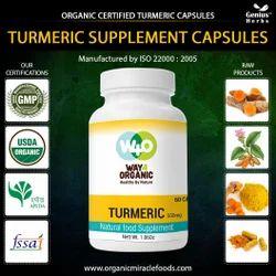 Best Quality Organic Turmeric Capsules-500mg