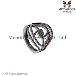 Latest Design Party Wear Gemstone Ring Jewelry