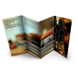 Brochure Printing, Dimension / Size: Standardised