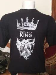 U N creations Cotton Men's T Shirt