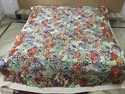 Multi Printed Applique Designer Cutwork Bedsheet