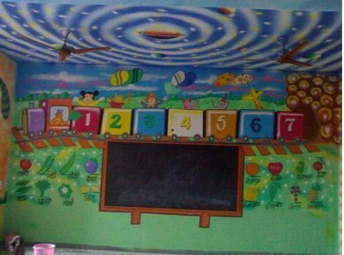 Nursery KG Classroom Interior