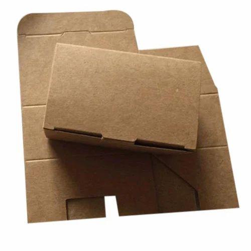 Rectangular Paper Corrugated Packaging  Box