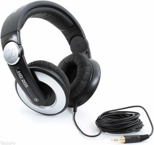 sennheiser hd 205 headphone at rs 3100 piece sennheiser earphones id 12765681888. Black Bedroom Furniture Sets. Home Design Ideas