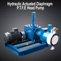 Hydraulic Actuated Diaphragm P.T.F.E Head Pump