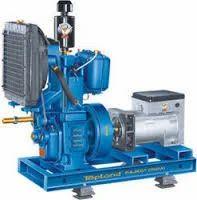 Old Diesel Generator Set