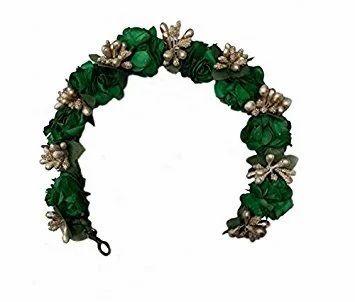 e8c89ad52f4 MAJIK Green Hair Bun Gajra Veni, For Parlour, Rs 399 /piece   ID ...