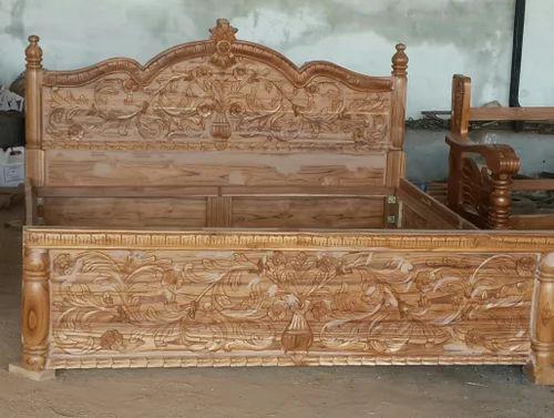 6 6 25 Feet Brown Teak Wood Cot Bed Sri Sai Home Need Id