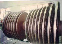 In Situ Grinding of Turbine Shaft