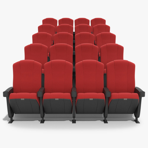 Red Theater Chair Size 22 Inch Rs 5200 Piece Krunal