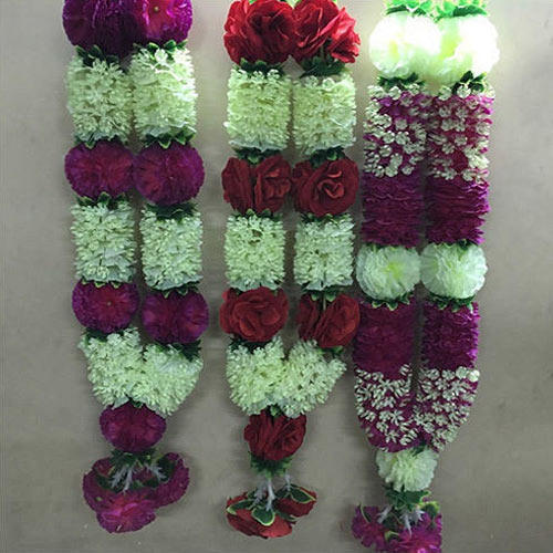 how to make flower mala at home