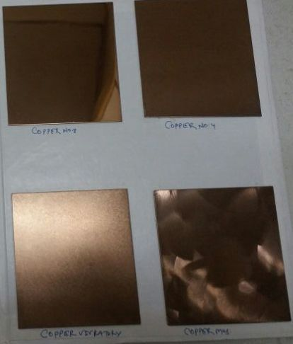 Fabrinox Copper Colour Stainless Steel
