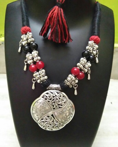 f177ed8bead65 Oxidized & Glass Beads Jewelry