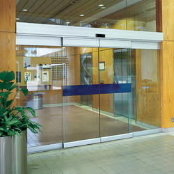 SS, Aluminum Automatic Sliding Glass Door, For Hotel