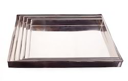 Steel Square Tray