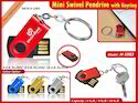 Swivel Pendrive with Keyring TCN H1083