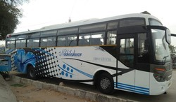 45/48 Seater Semi Volvo Pattern Bus Hire In Jaipur