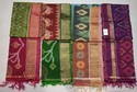 5.2 M (separate Blouse Piece) Srs Pure Silk Ikkat Sarees, With Blouse Piece
