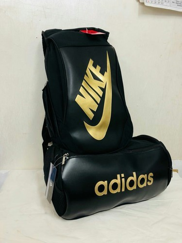 b33042d1fb72 Black Adidas And Nike Bag