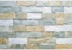 Johnson Villa Stone Brown Ceramic Wall Tile Grey
