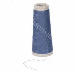 Blue Polyester Wool Blend Yarn, For Garmentd, Garments, For Garments