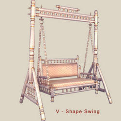 Wooden Swing -V Shape