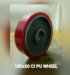 180x50 mm Cast PU Pallet Truck Wheels