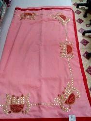 Wedding Wear Cotton Silk Saree, 6.3 M (with Blouse Piece)