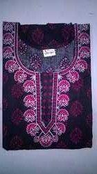 393b9b600 Ladies Coton Night Dress · Procin Cotton Embroidery Nighty
