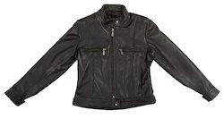 Black Girls Pu Jacket