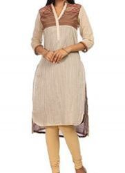 Ivry Poly Cotton Straight Kurta