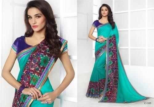 ladies traditional sarees, फैंसी साड़ी - brijraj fashion