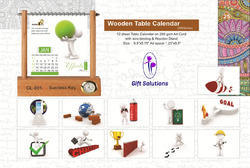 Wooden Table Calendars
