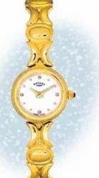 Girl Fancy Gold Wrist Watch