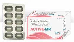 Aceclofenac Paracetamol & Chlorzoxazone Tablets