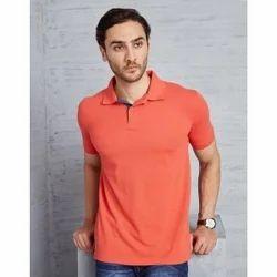 Small Cotton Polo Mens T Shirt