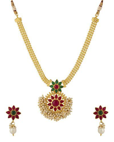 d37f19972e2 Pearl Bunch Designer Necklace Set at Rs 239 /set | Pearl Necklace ...