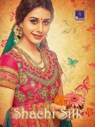Banarasi Silk Dubka Work Silk Sarees