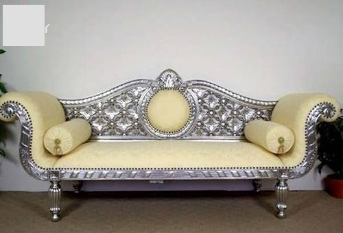 German Silver Wooden Carving Sofa Set