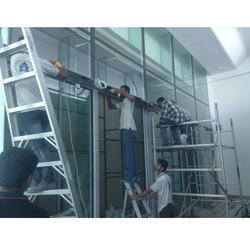 Glass Aluminum Work Services, for Residential