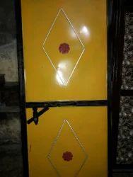 Yellow Standard Iron Door, Size/dimension: 3078