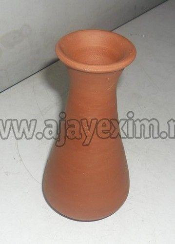 Clay Mini Gorgeous Flower Vase Mitti Ka Guldasta