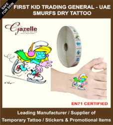 Dry Pressure Based Tattoo