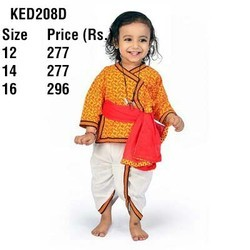 Rajasthani Ethnic Boys Dhoti Angrakha 208D
