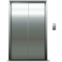 Stainless Steel Automatic Elevator Door, Usage: Household, Industrial Premises, Office Building