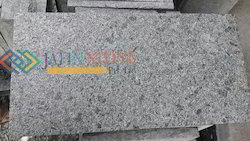 Steel Grey Granite Flammed Finish, Thickness: 10 Mm