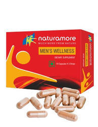 Naturamore, mens Wellness Capsule