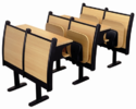 Modern College Classroom Furniture